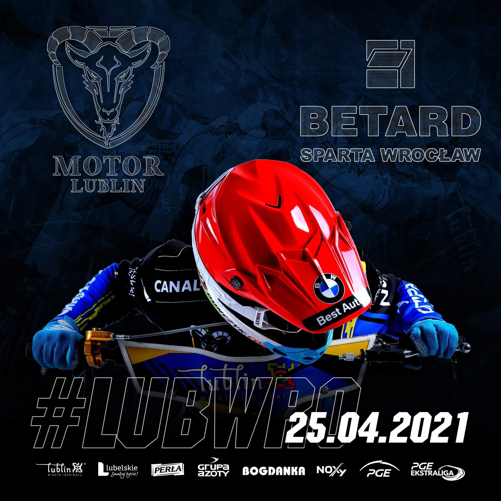 Motor Lublin – Betard Sparta Wrocław 52:38