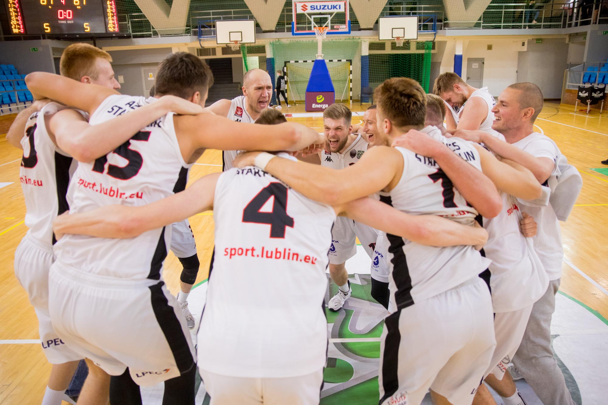 U!NB AZS UMCS Start II Lublin z awansem do 1. Ligi PZKosz