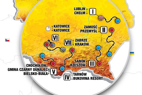 Tour de Pologne rozpocznie się 9 sierpnia w Lublinie