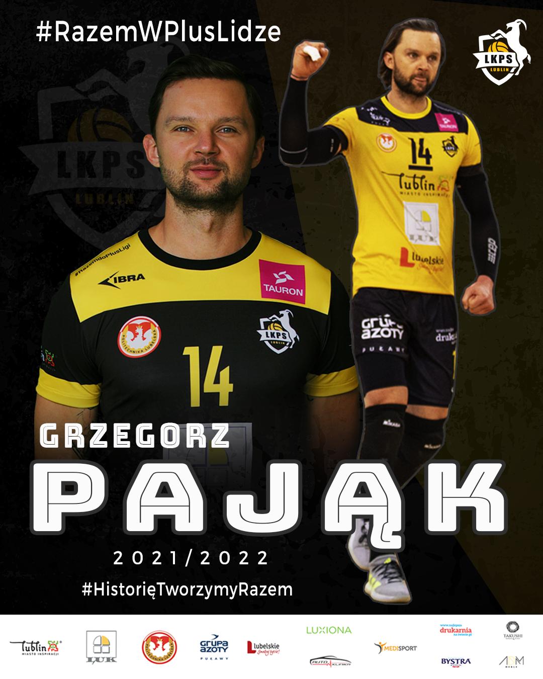 Grzegorz Pająk zostaje w LUK Politechnice Lublin!