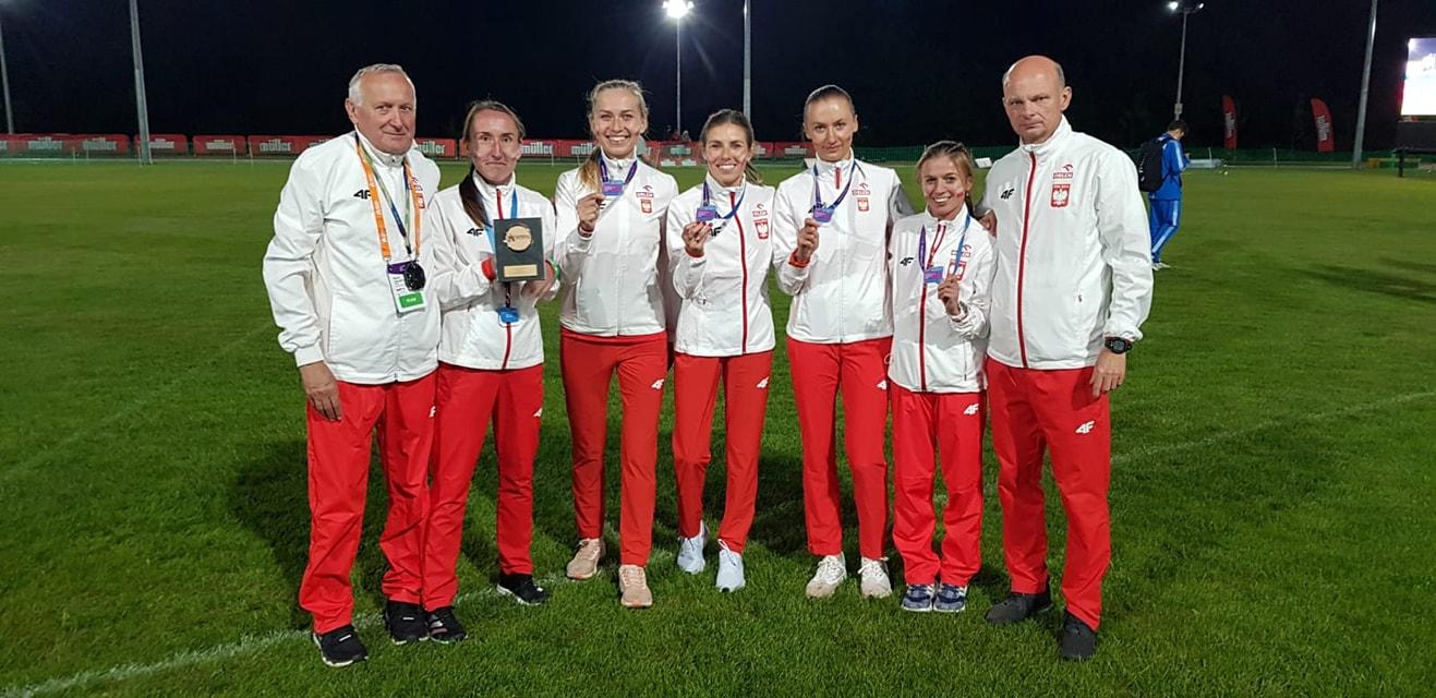 Biegaczki AZS UMCS ze świetnymi wynikami w Pucharze Europy w biegu na 10 000 metrów.