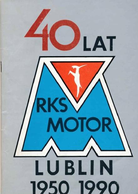 """Z archiwum Centrum Historii Sportu w Lublinie: """"40 lat RKS Motor Lublin"""""""