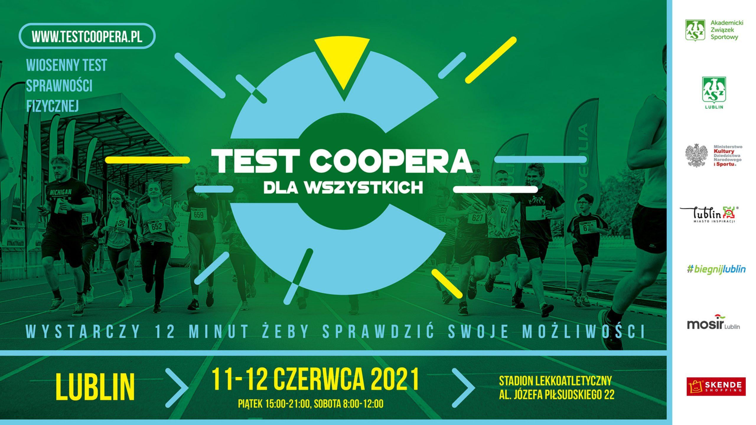 Test Coopera dla wszystkich - zaproszenie