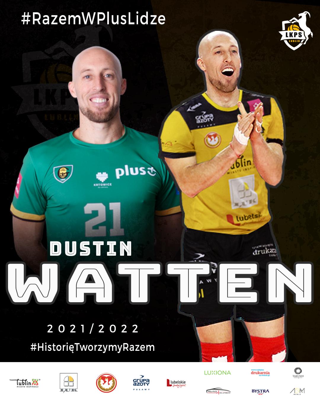 Dustin Watten hitem transferowym LUK Politechniki Lublin
