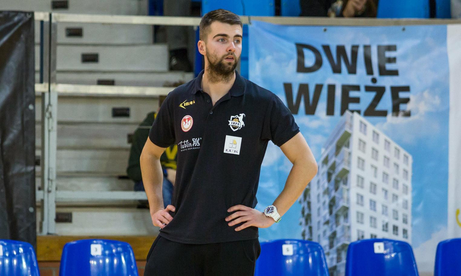 Maciej Kołodziejczyk pozostaje drugim trenerem LUK Politechniki Lublin