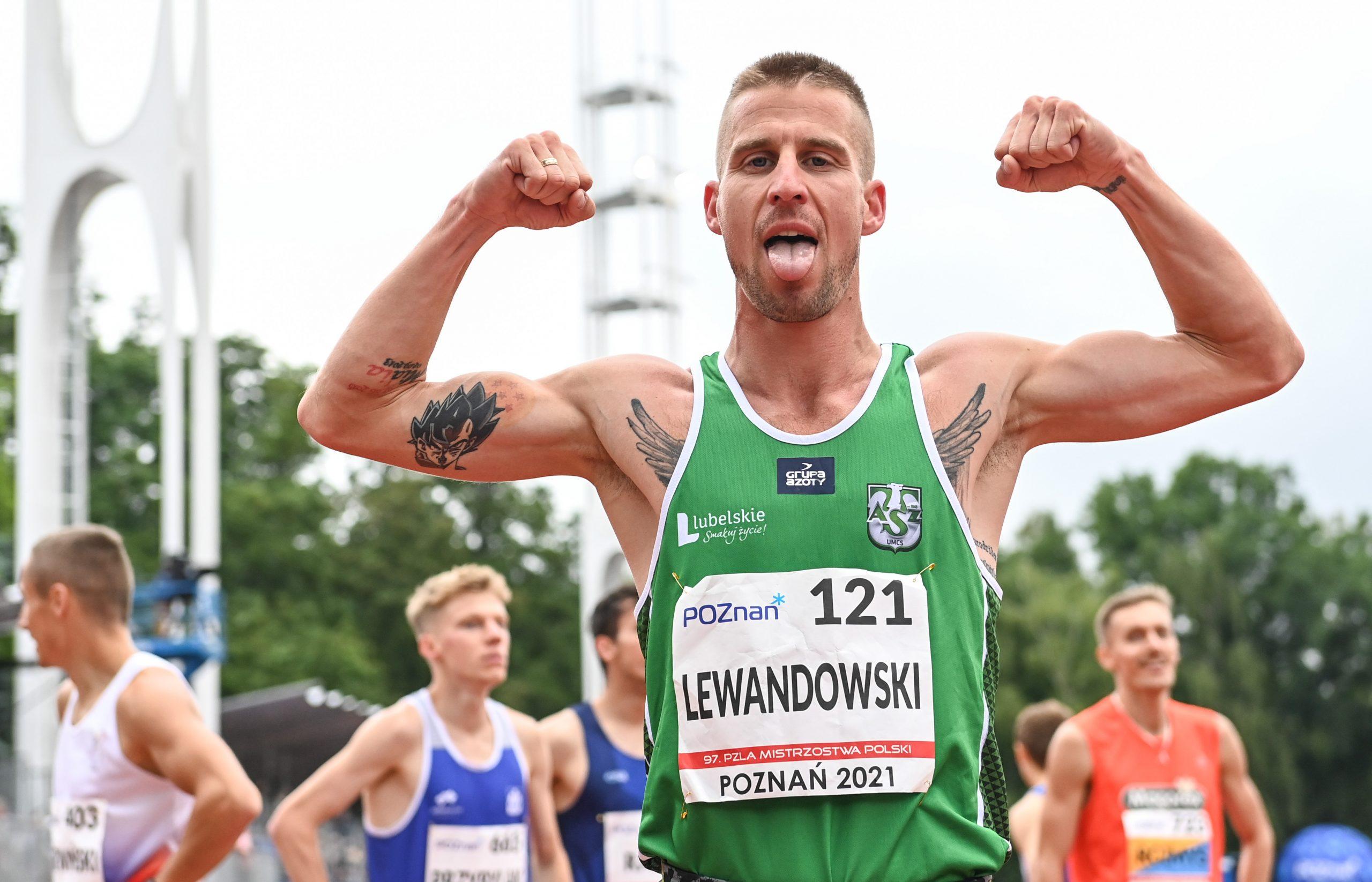 Marcin Lewandowski poprawił własny rekord Polski
