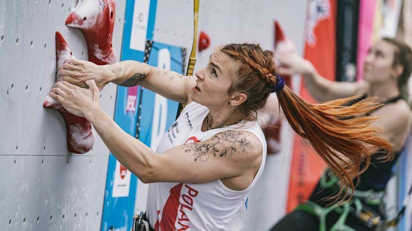 Patrycja Chudziak z brązowym medalem Pucharu Świata we wspinaczce na czas w Villars