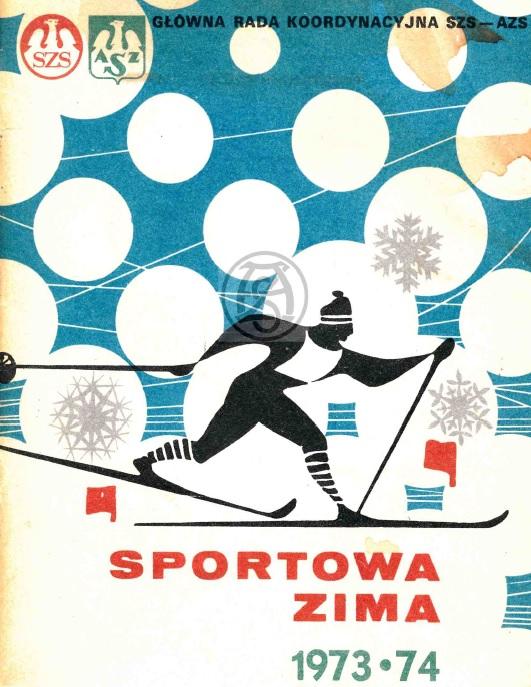 """Z archiwum Centrum Historii Sportu: """"Sportowa Zima 1973/1974"""""""