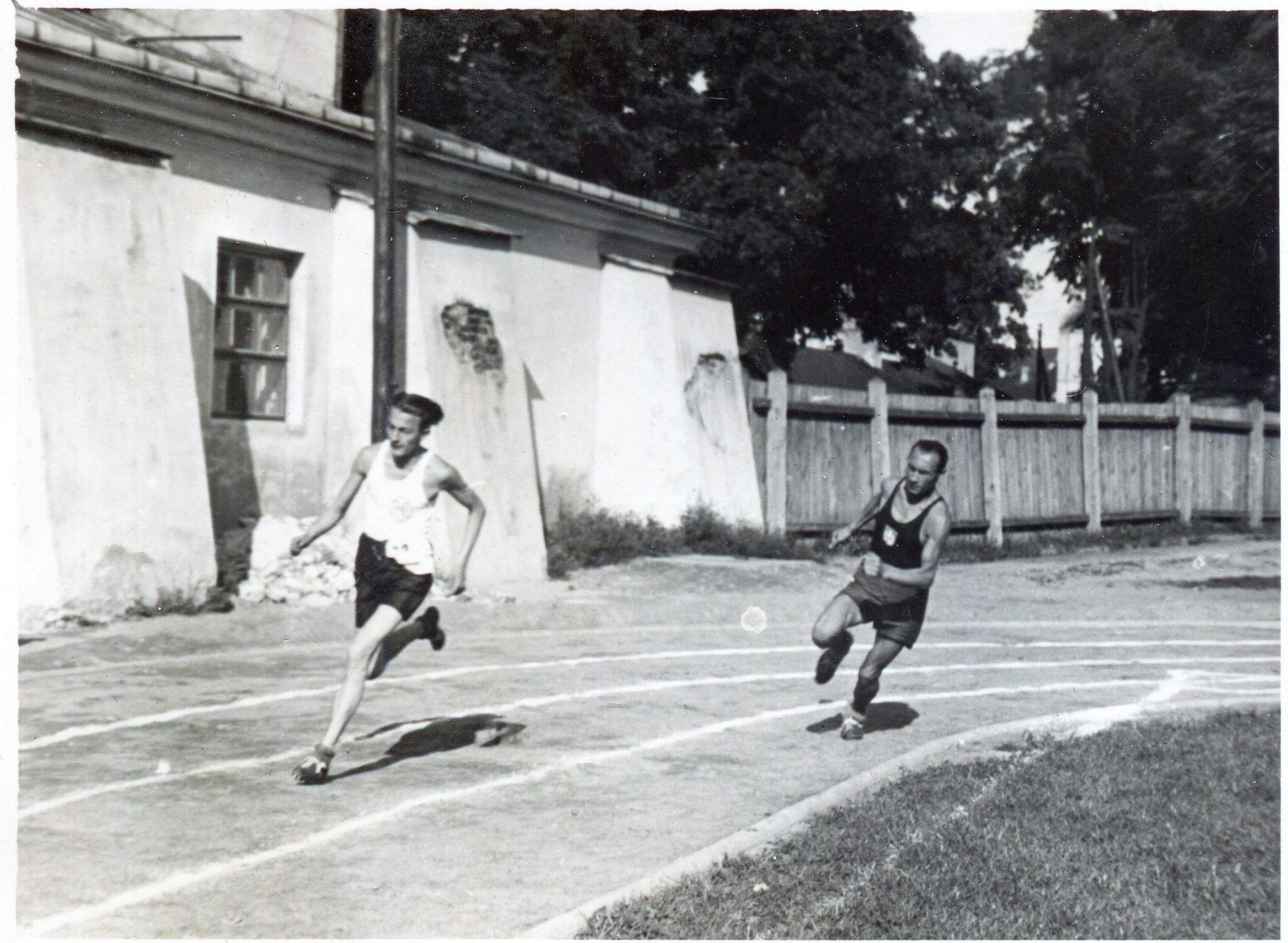 Międzyklubowe zawody lekkoatletyczne 27 września 1924 r.