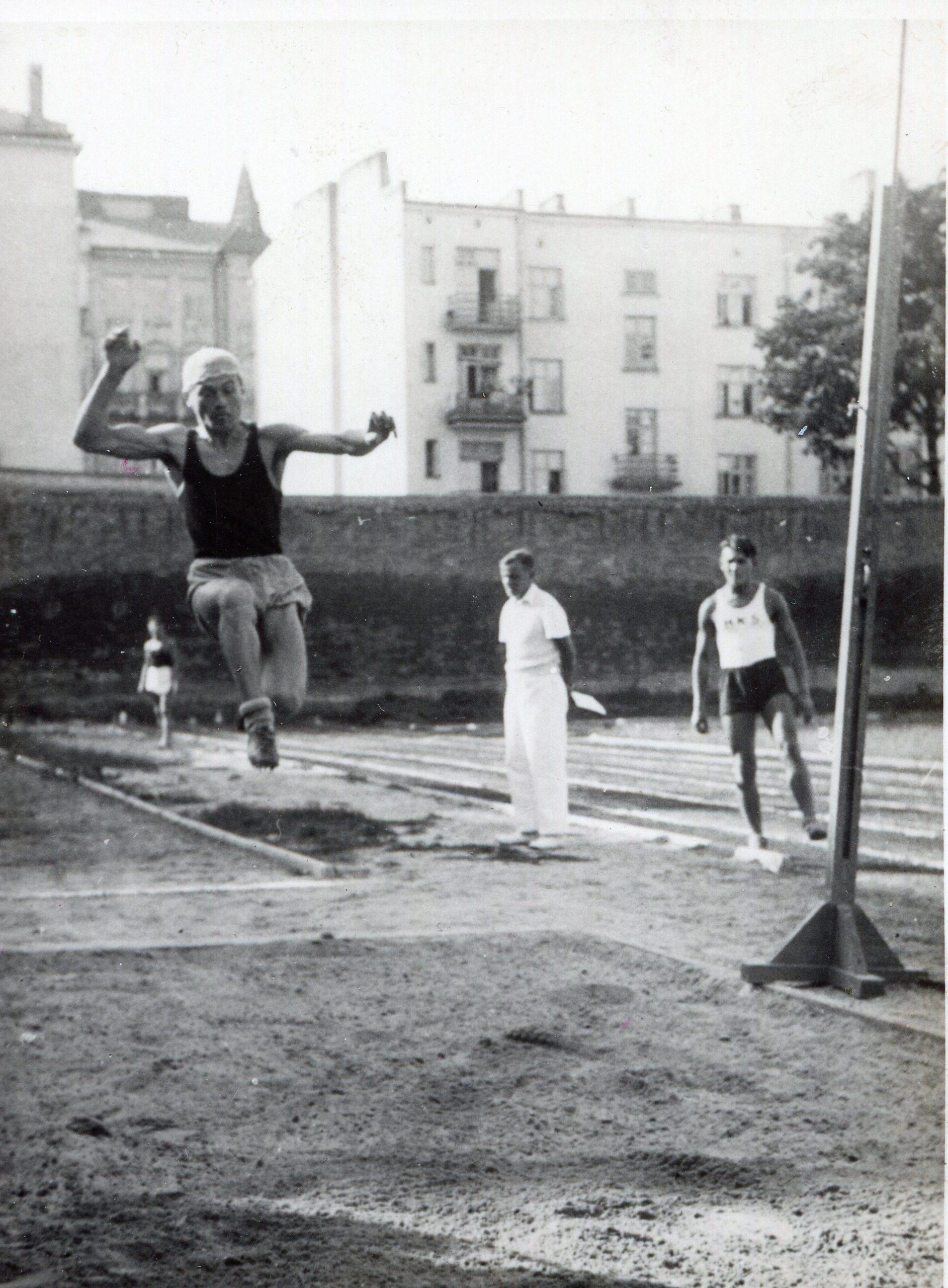 Zawody sportowe młodzieży szkolnej Lwowa i Lublin z 23 września 1923 r.