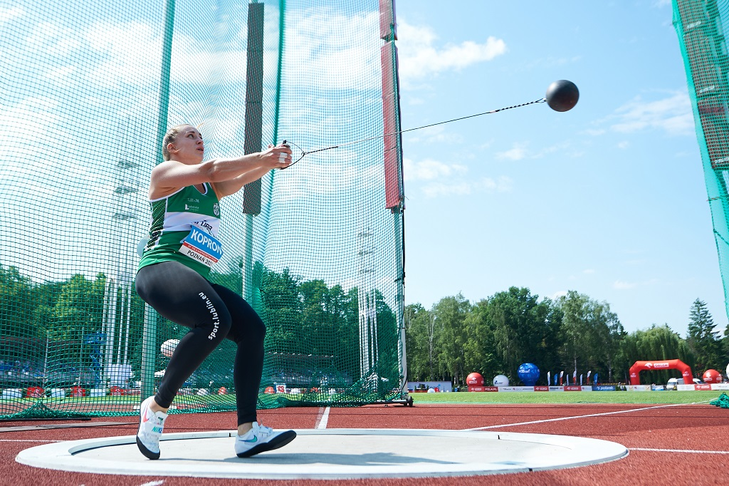 Malwina Kopron na podium w 3. Memoriale Ireny Szewińskiej