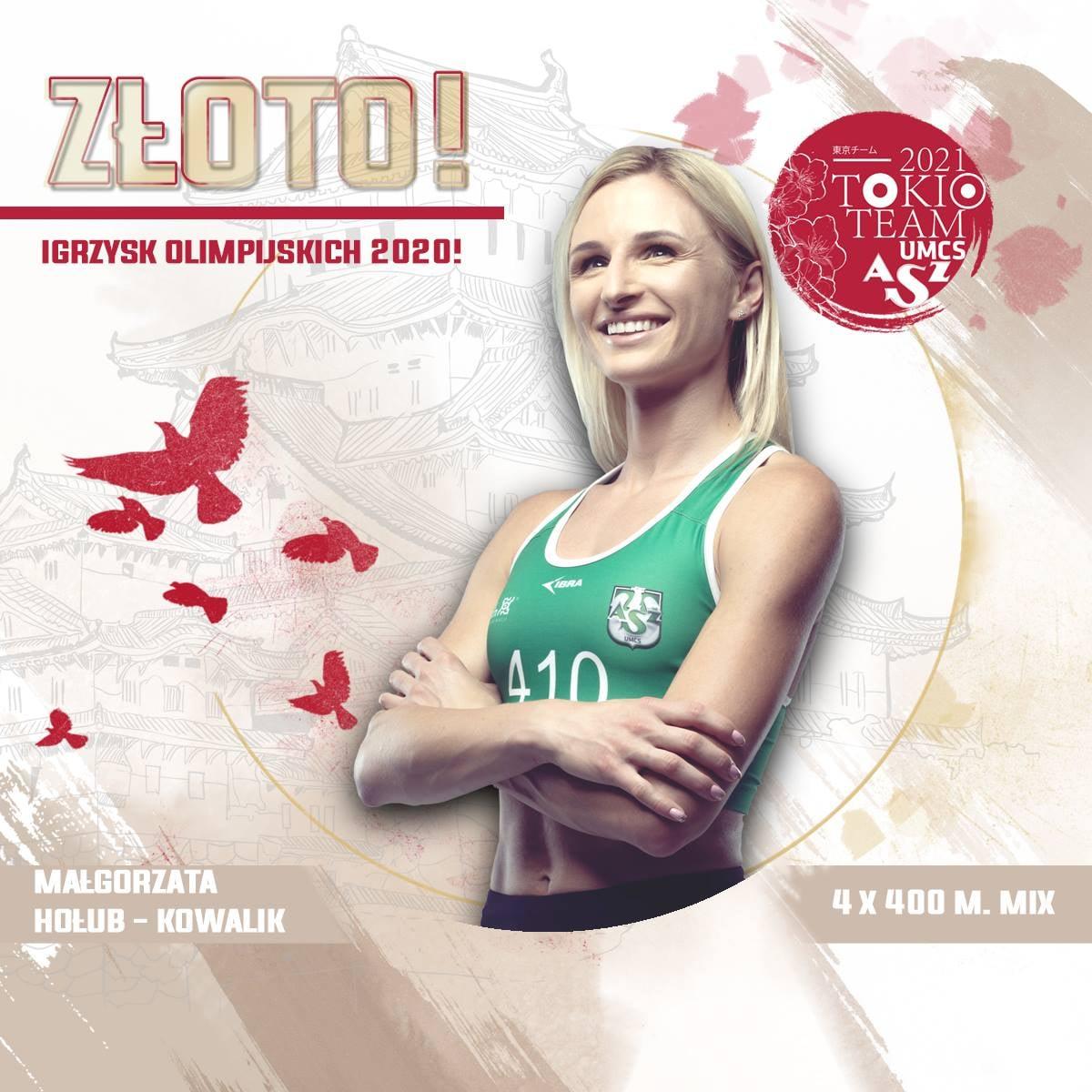 Tokio 2020: Małgorzata Hołub - Kowalik z olimpijskim złotem!