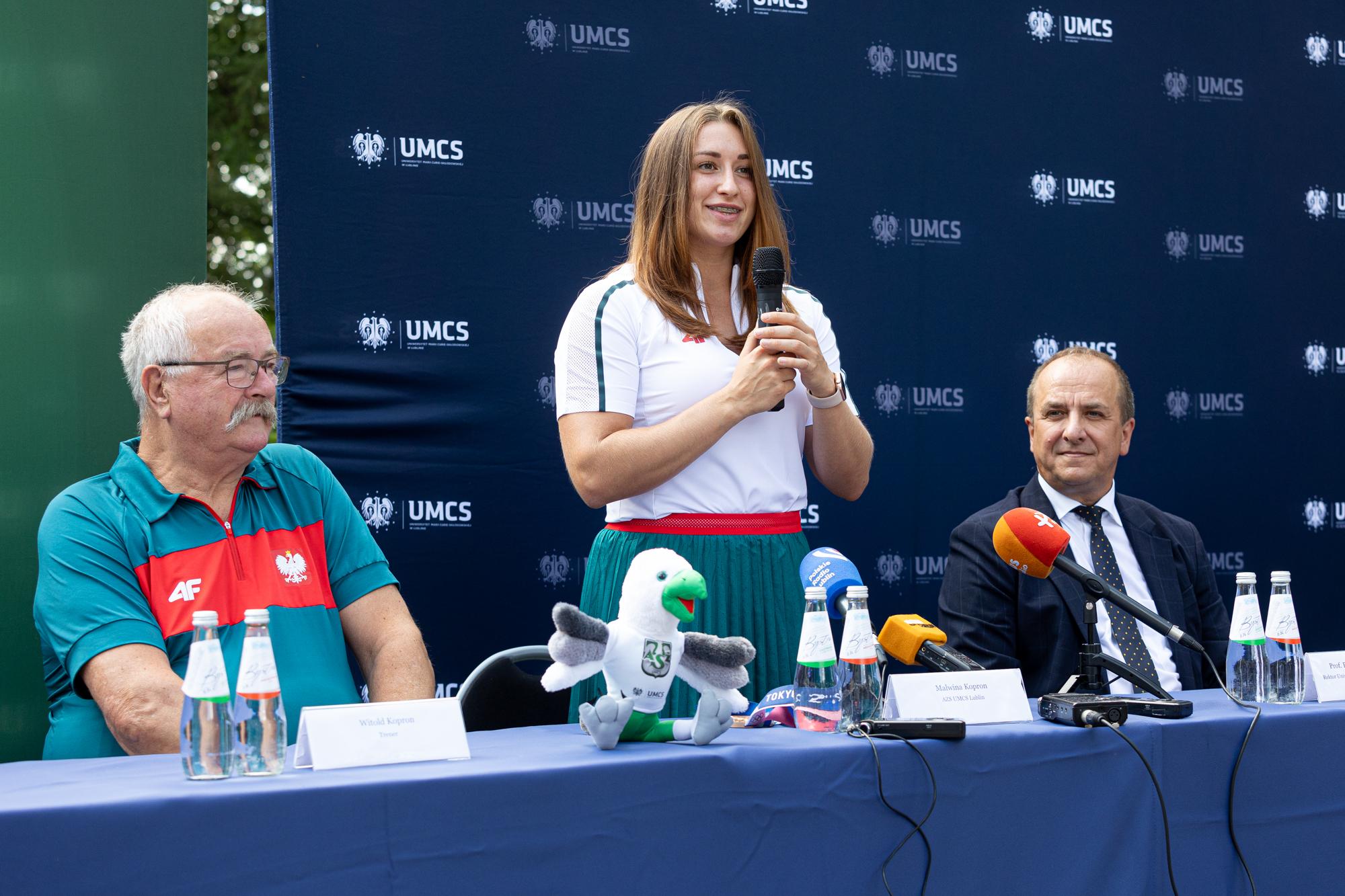 Spotkanie z medalistką Igrzysk Olimpijskich Malwiną Kopron