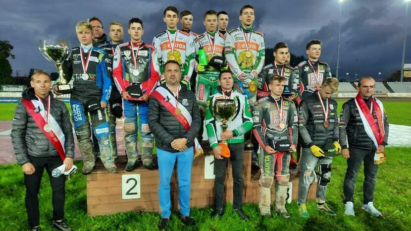 Młodzieżowcy Motoru Lublin drużynowymi wicemistrzami Polski juniorów
