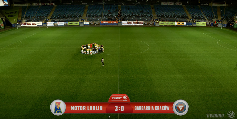 Motor Lublin - Garbarnia Kraków 3:0 (1:0)