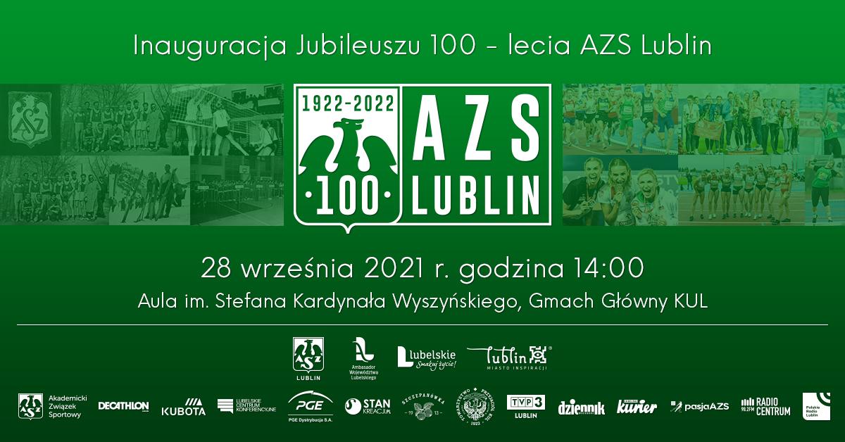 Konferencja zapowiadająca 100-lecia AZS Lublin
