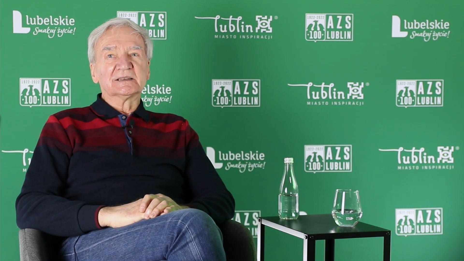 Wspomniania AZSiaków - Henryk Derkacz (nagranie)