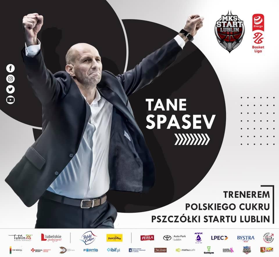 Tane Spasev nowym trenerem Startu Lublin