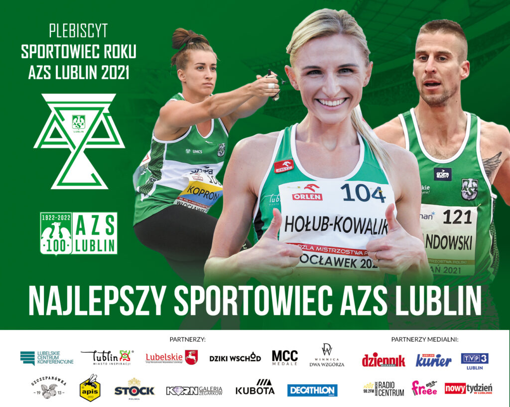 Plebiscyt: Sportowiec roku AZS Lublin 2021